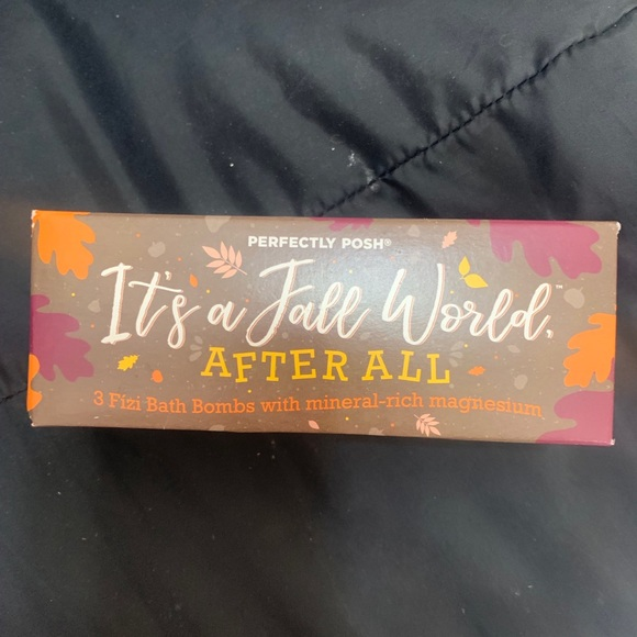 It's A Fall Word After All Perfectly Posh Fizi